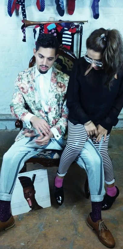 Laila and Shrief D.Lo London Interview The P-Ho Diaries Fashion Blog