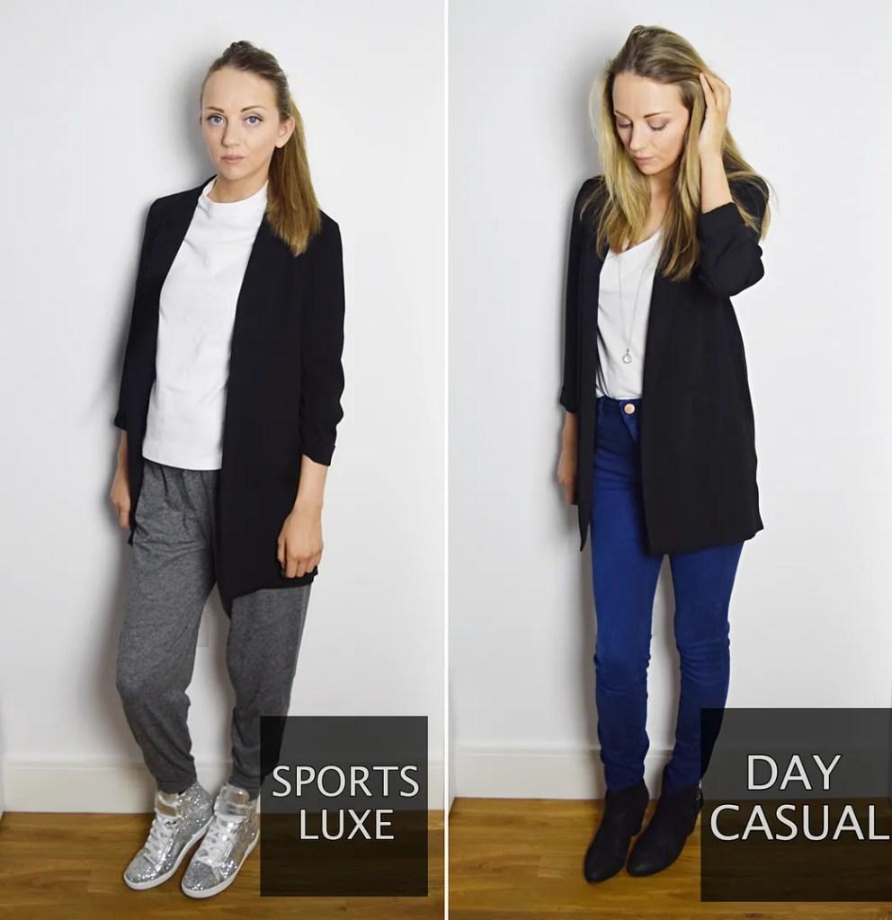 6 ways to wear a black blazer - the ldn diaries