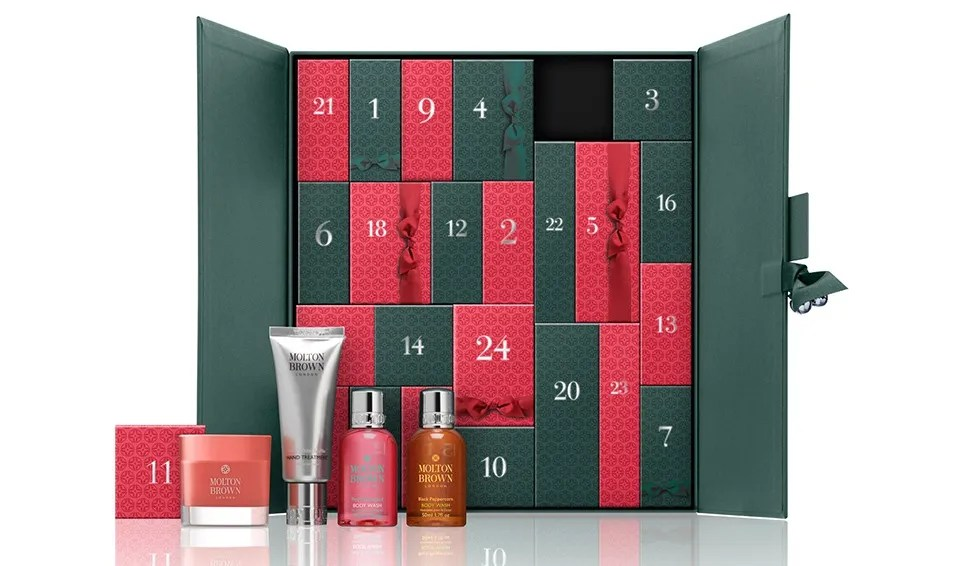 Molton Brown advent calendar 2016