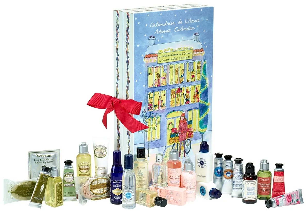 Loccitane advent calendar 2016