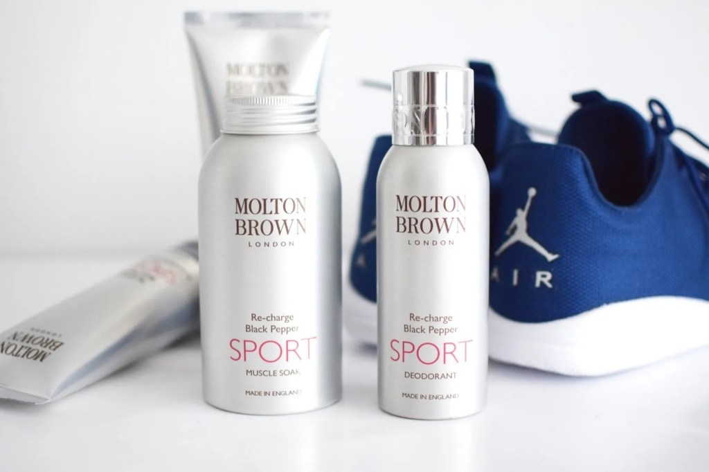 Molton brown SPORT Re Charge Black Pepper Review