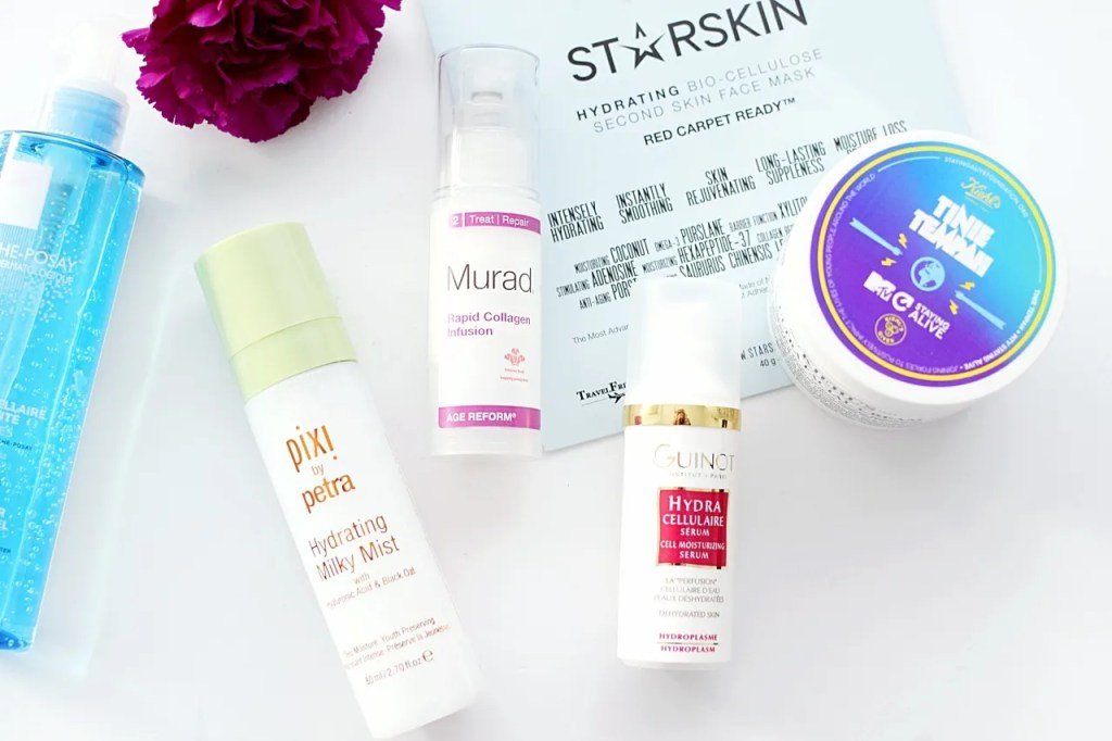 Best products for dehydrated skin