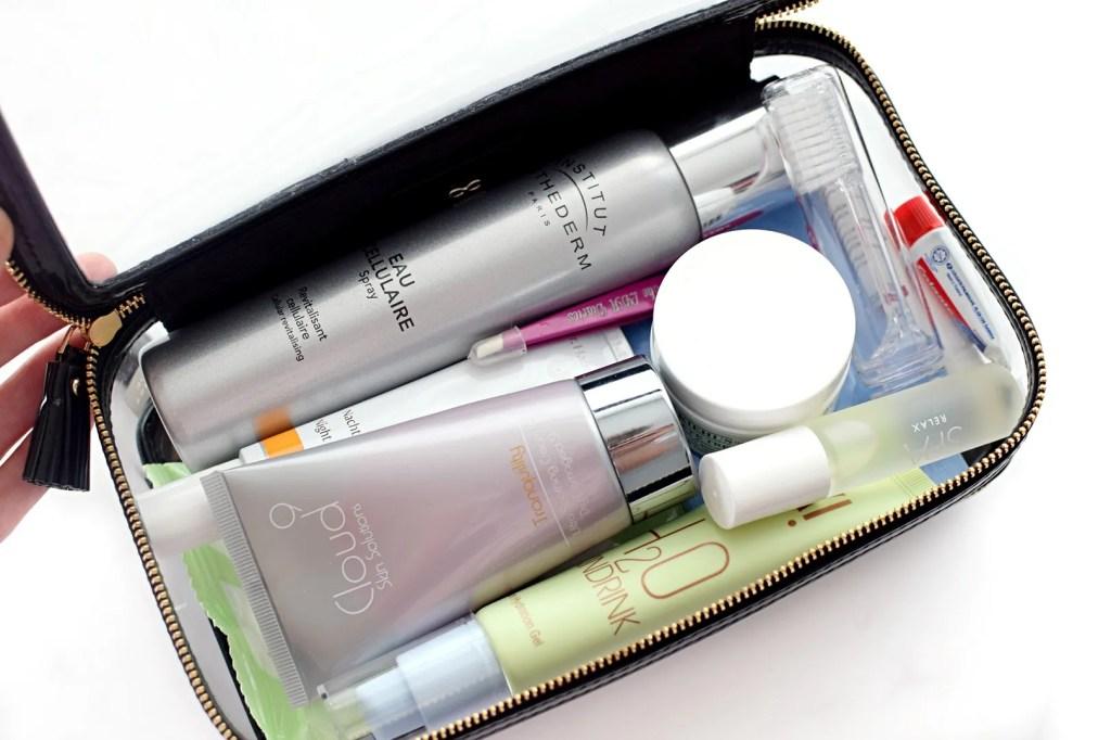 What's In My In-Flight Beauty Bag