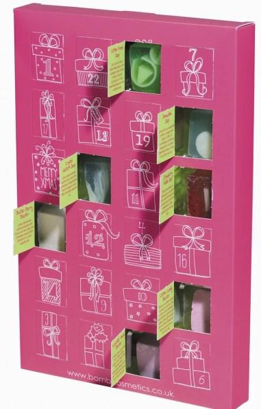 Bomb Cosmetics Advent calendar 2015