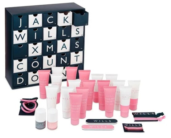 Jack Wills Beauty Advent Calendar 2016