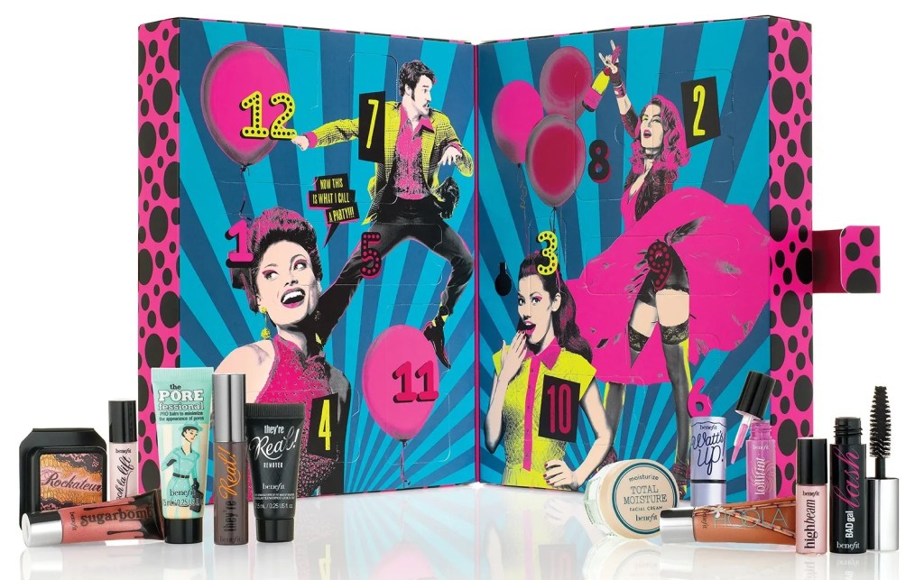 Benefit Advent Calendar 12 Days of Party Poppers 2015