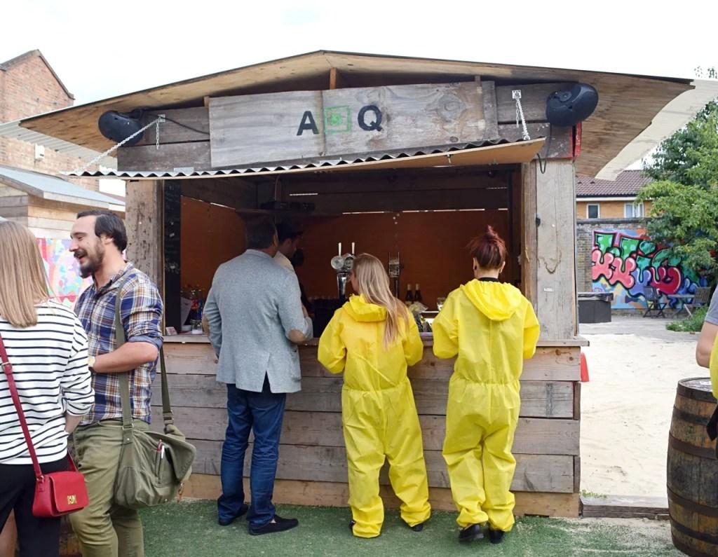 ABQ pop-up bar