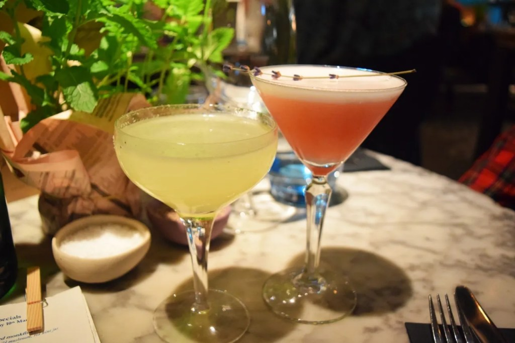 The Drift cocktails