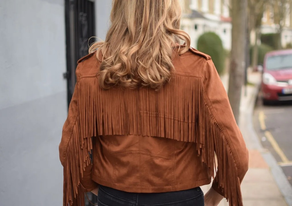 Bershka Fringed Jacket | The LDN Diaries