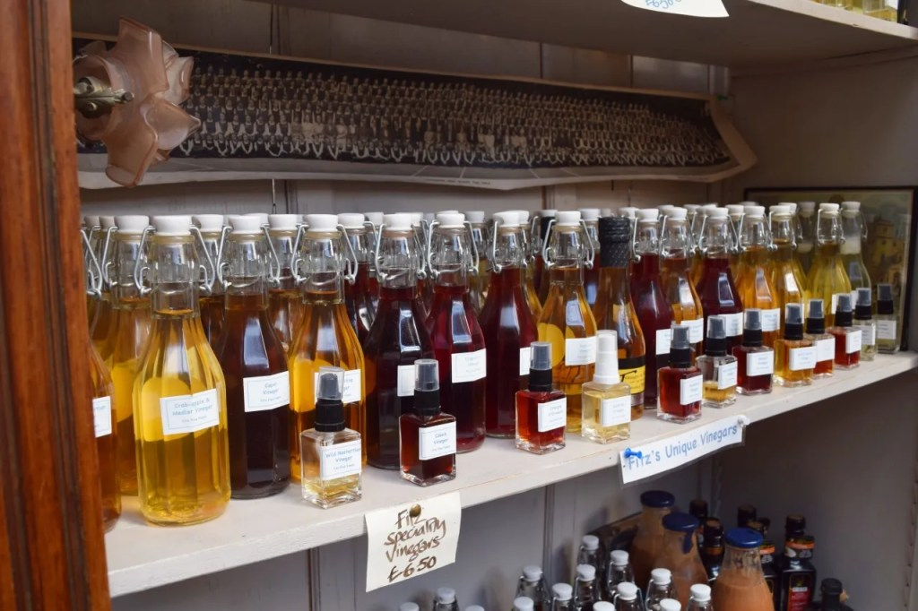 Vinegar Bottles Borough Market London | The LDN Diaries