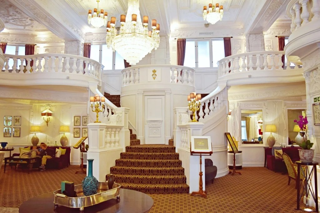 St Ermin's Hotel London staircase 2015