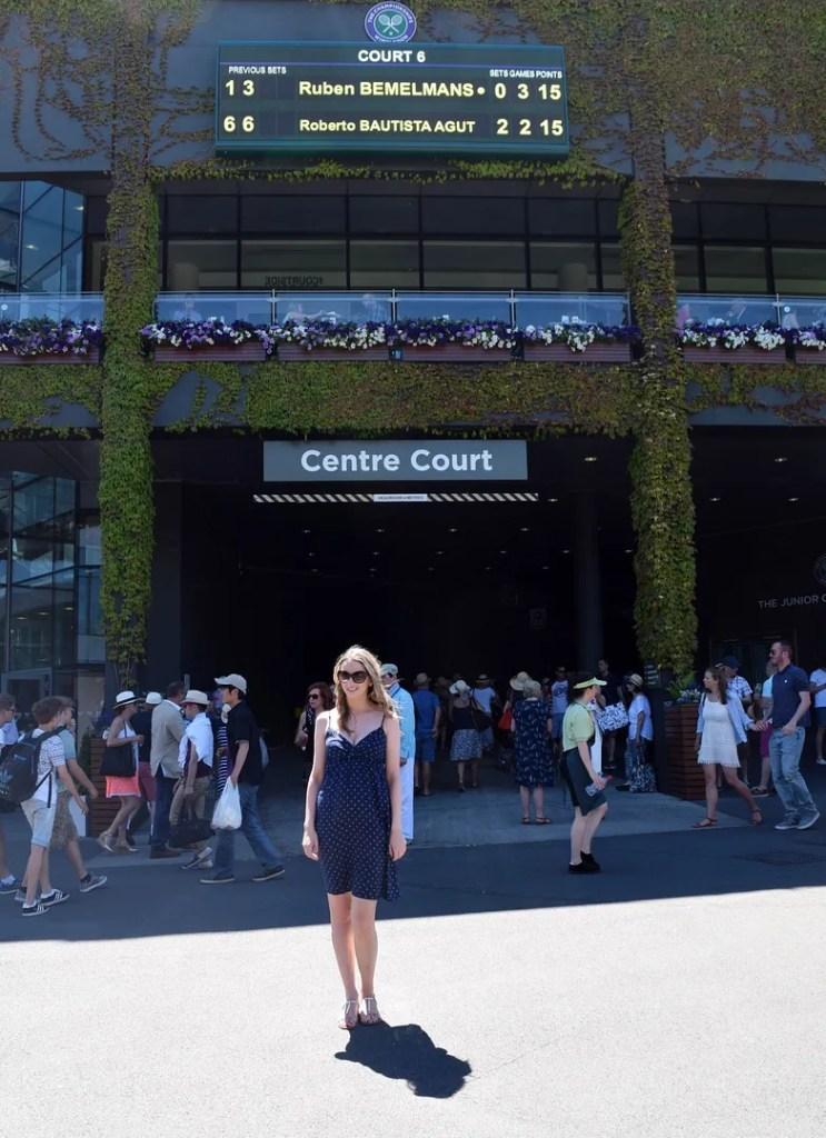 The LDN Diaries at Centre Court Wimbledon