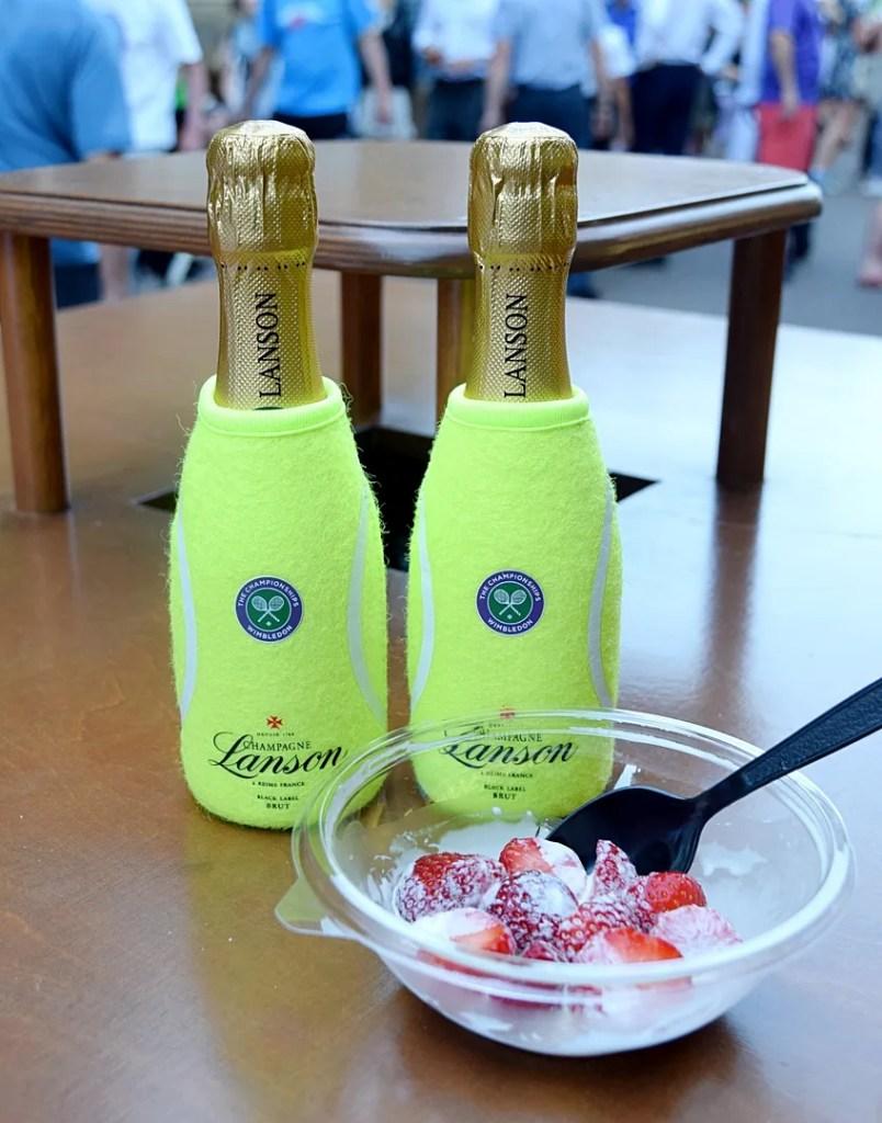Wimbledon Lanson champagne