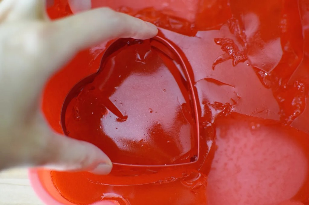 Love Heart Jelly