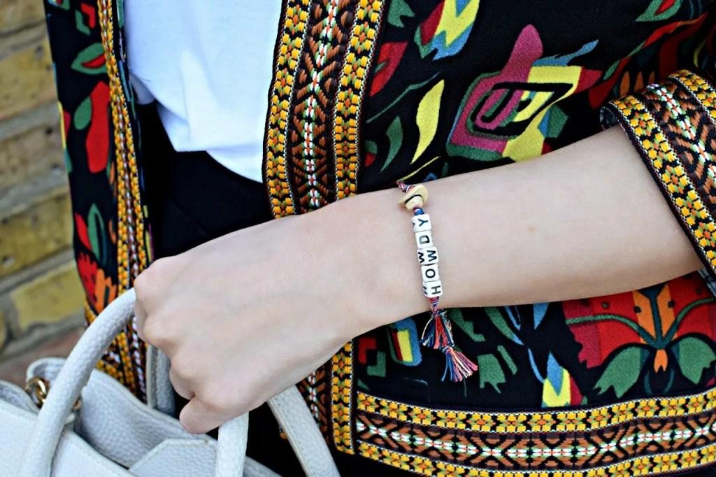 Venessa Arizaga Howdy Bracelet | The LDN Diaries