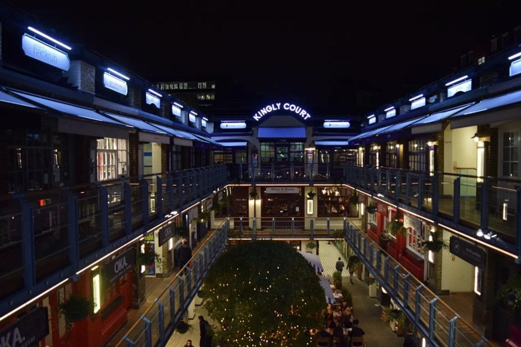 Kingly Court Carnaby Street