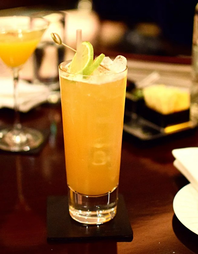 Mexican Punch cocktail | Polo Bar The Westbury Hotel