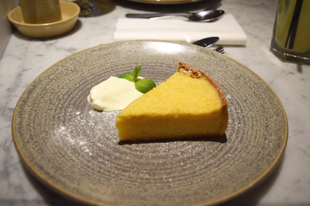 Lemon Tart Brasserie Blanc