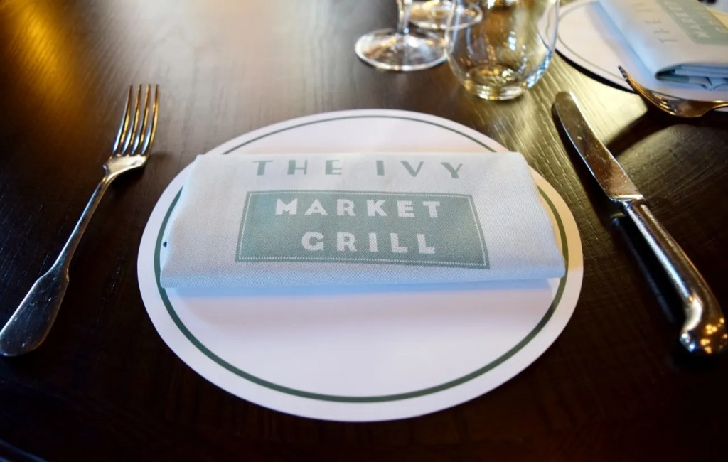 The Ivy Market grill Covent Garden   The LDN Diaries