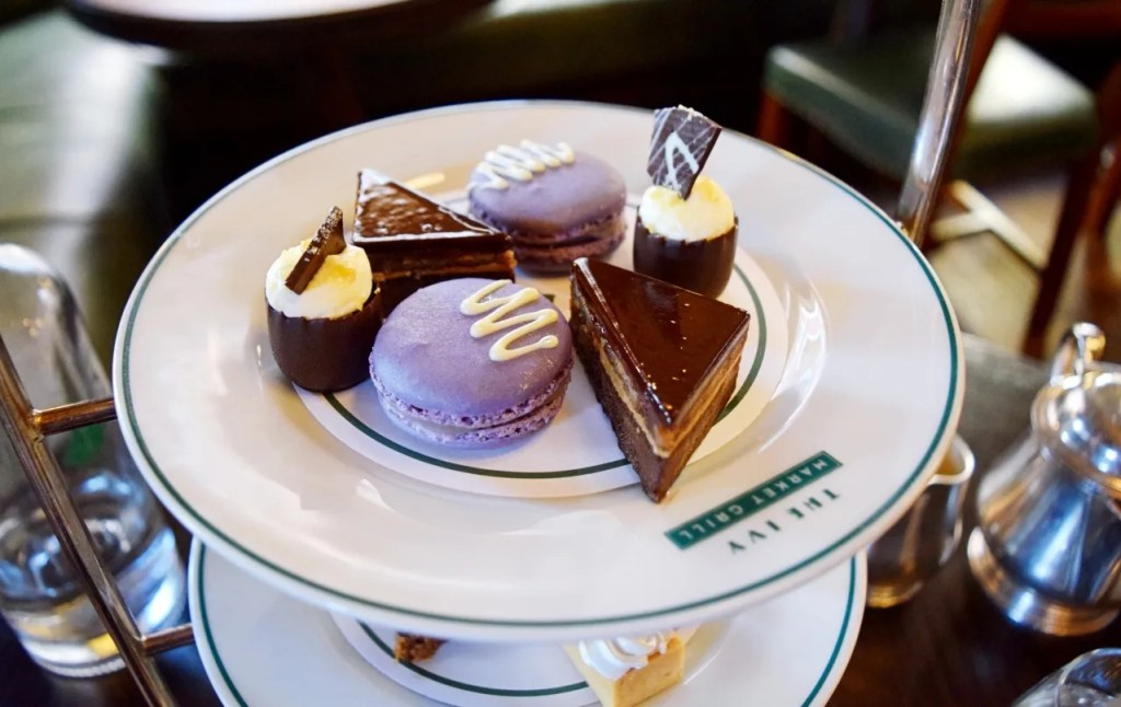 Afternoon tea the ivy market grill covent garden
