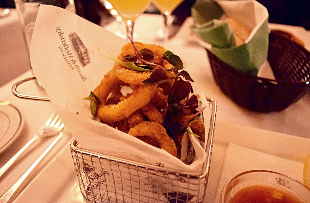 Crispy Squid Starter at Smith & Wollensky London Review