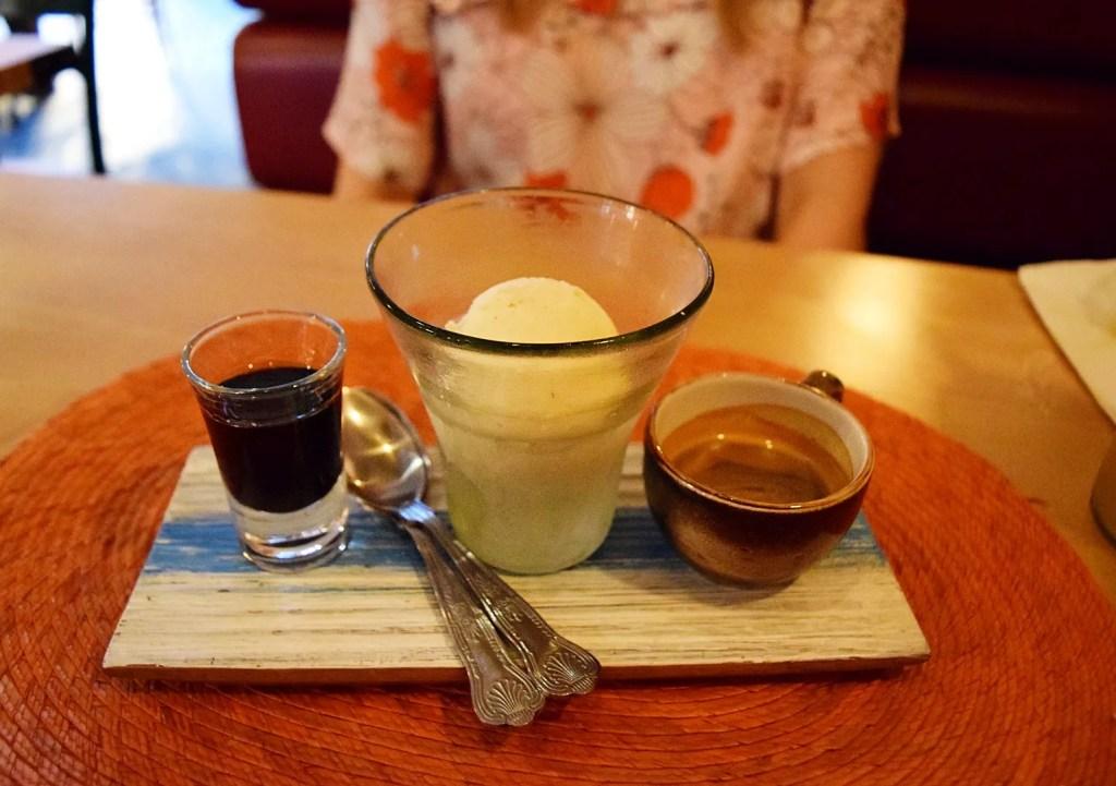 XO Affogato Patron XO Cafe Ice Cream Dessert