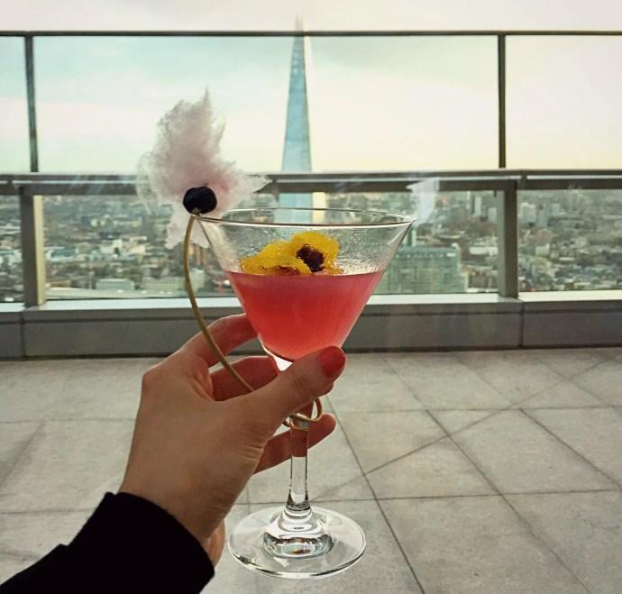 Cocktails at Sky Garden