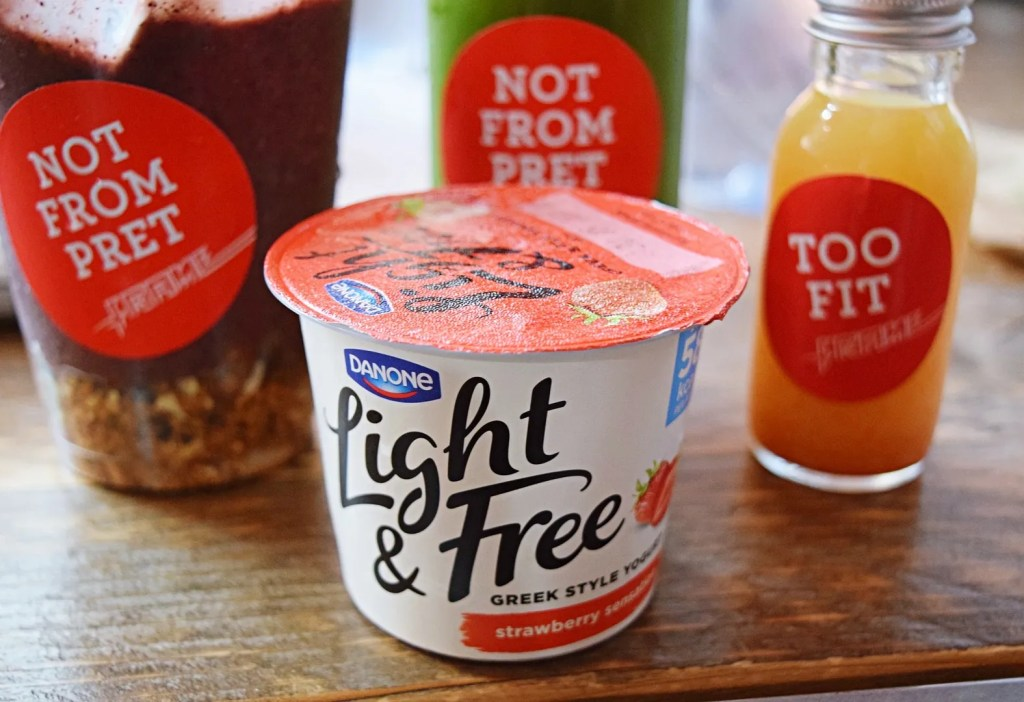 Danone Light & Free Yogurt