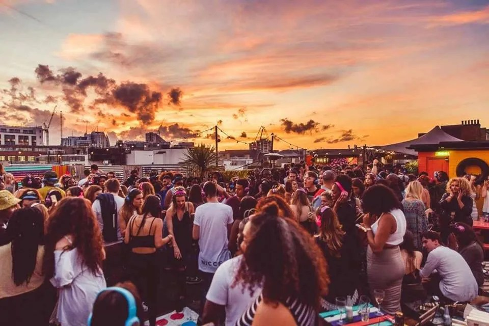 Queen of Hoxton Rooftop DJ sessions