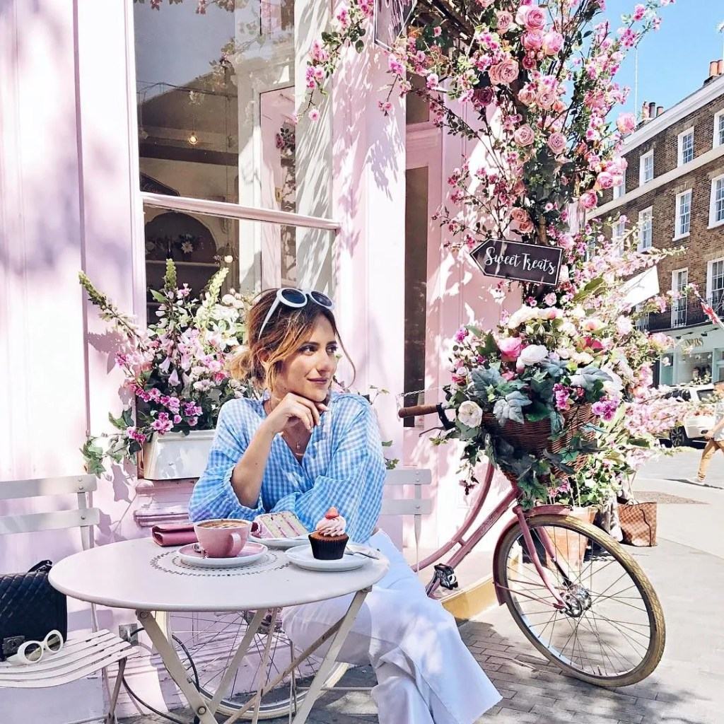 Peggy Porschen - 10 best places to Instagram London - London Lifestyle Blog