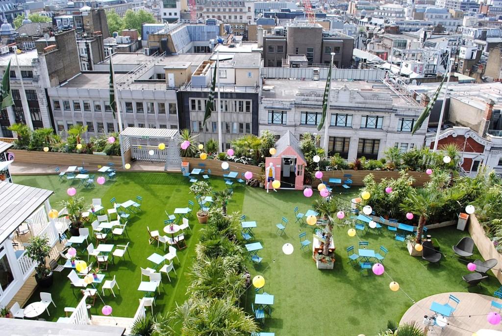 John Lewis Rooftop Garden - Best Rooftop Bars London - London Lifestyle Blog The LDN Diaries
