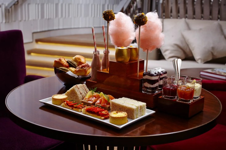 Charlie & the chocolate factory afternoon tea One Aldwych - Best Themed Afternoon Tea London