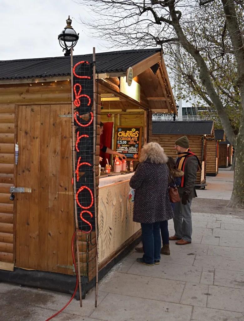 Churros Christmas Markets