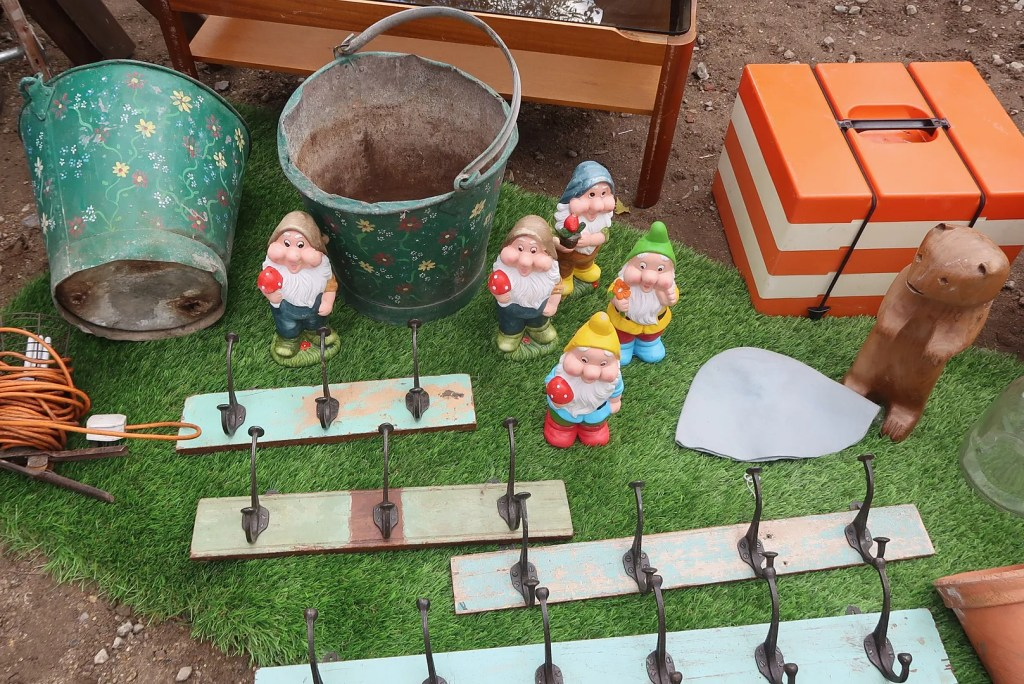 Gnomes and coat hangers