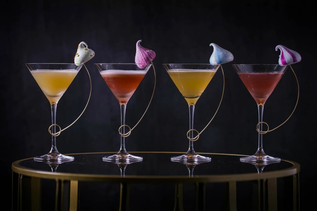 Meringue & martinis pop-up