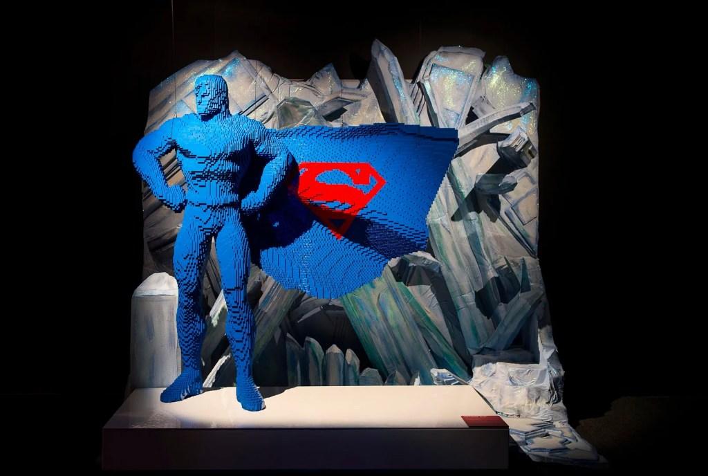 Art of The Brick Superheros