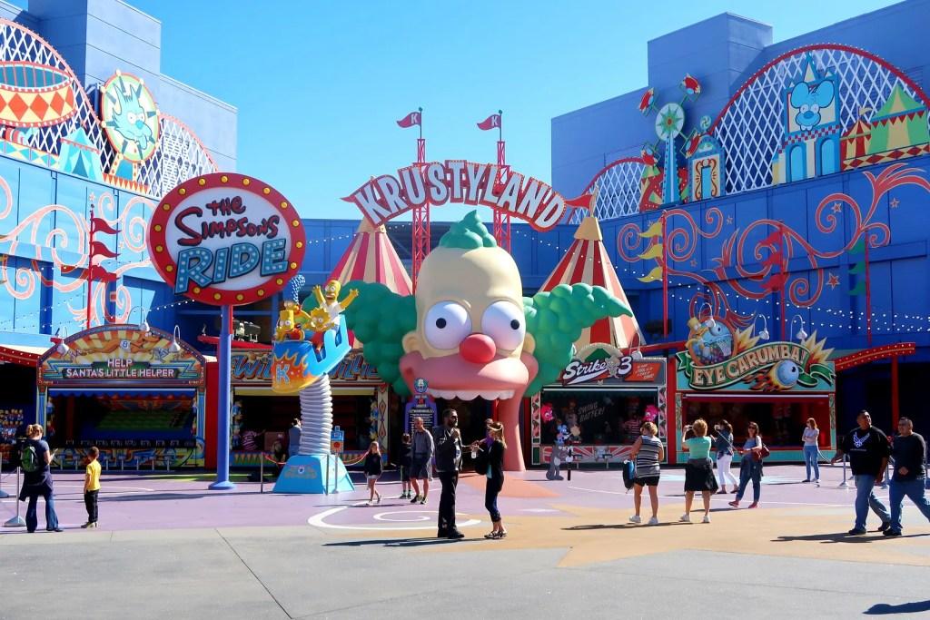 Krustyland Universal Studios