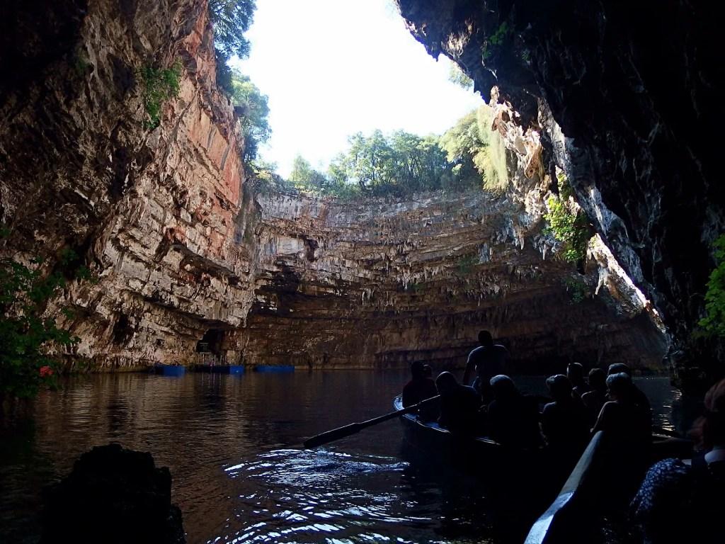 Melissani Caves Kefalonia