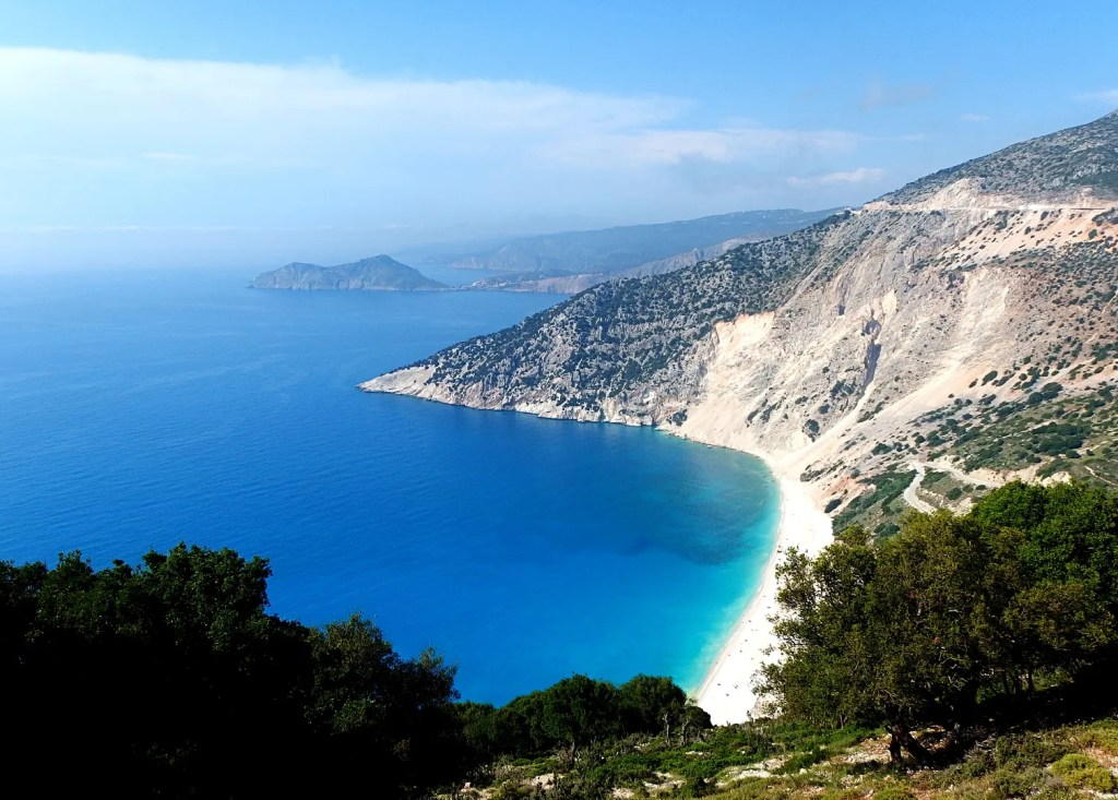 Myrtos Beach Kefalonia Greece