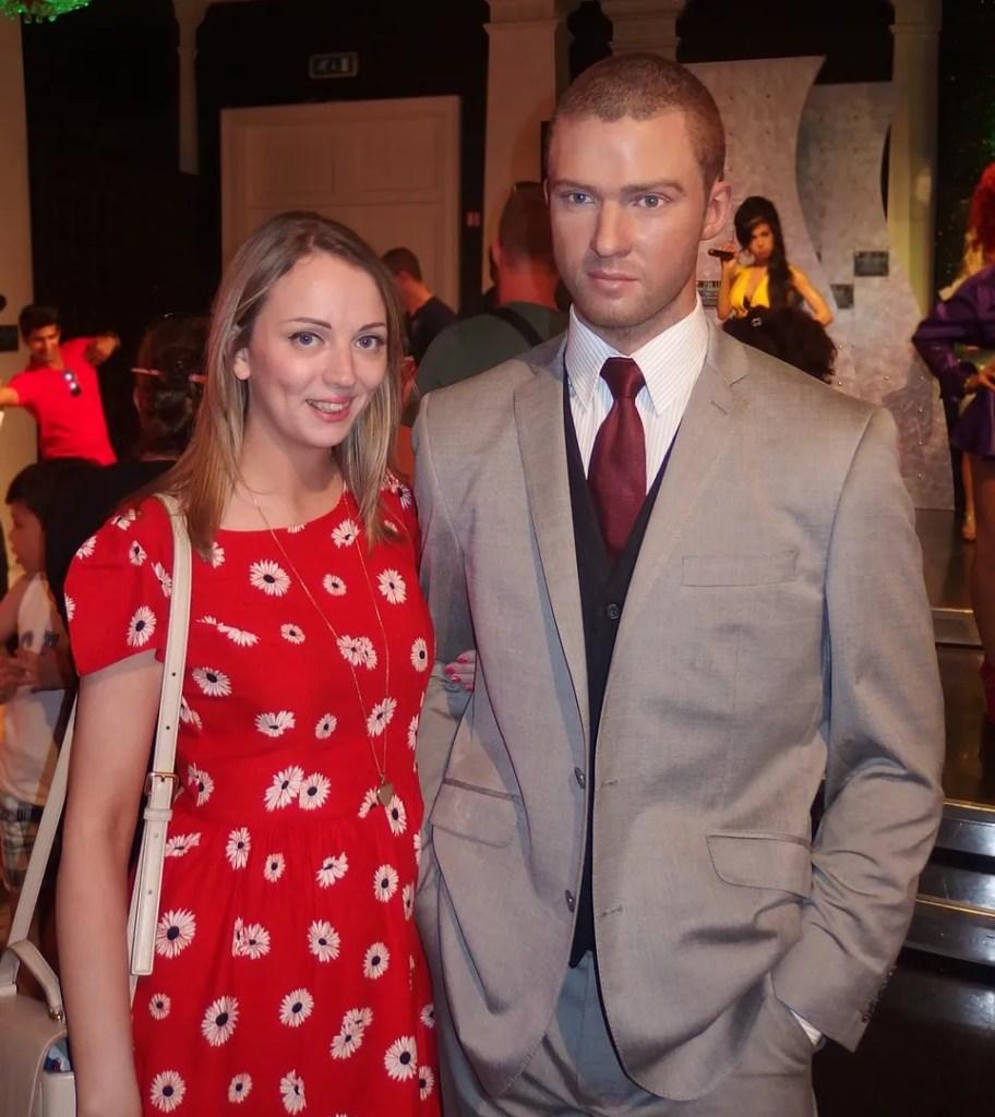 Justin Timberlake Madame Tussauds