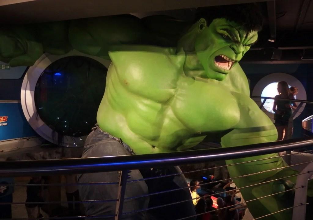 Marvel 4D The Hulk at Madame Tussauds