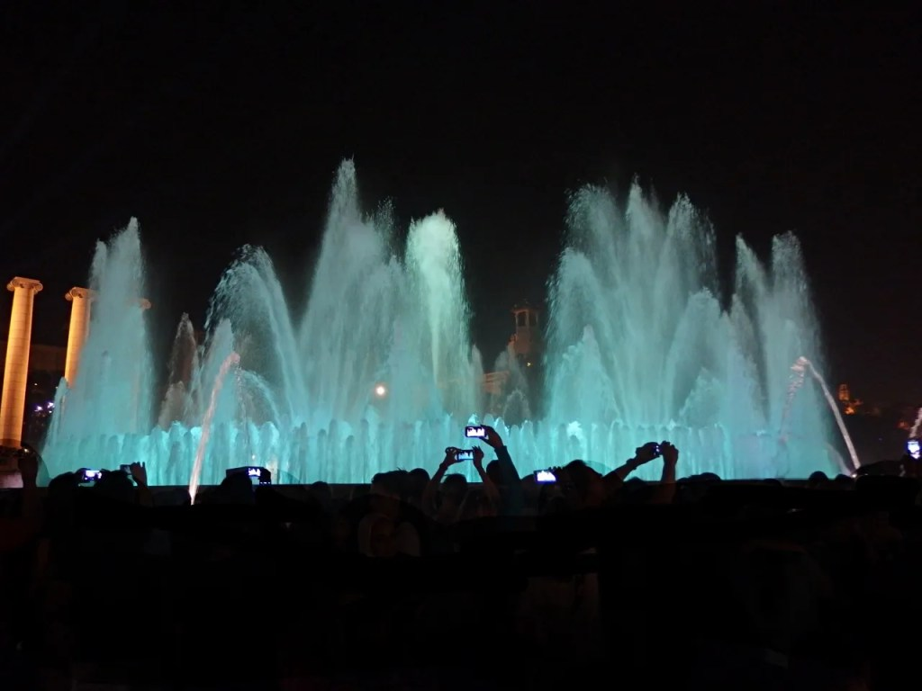 magic fountain barcelona spain