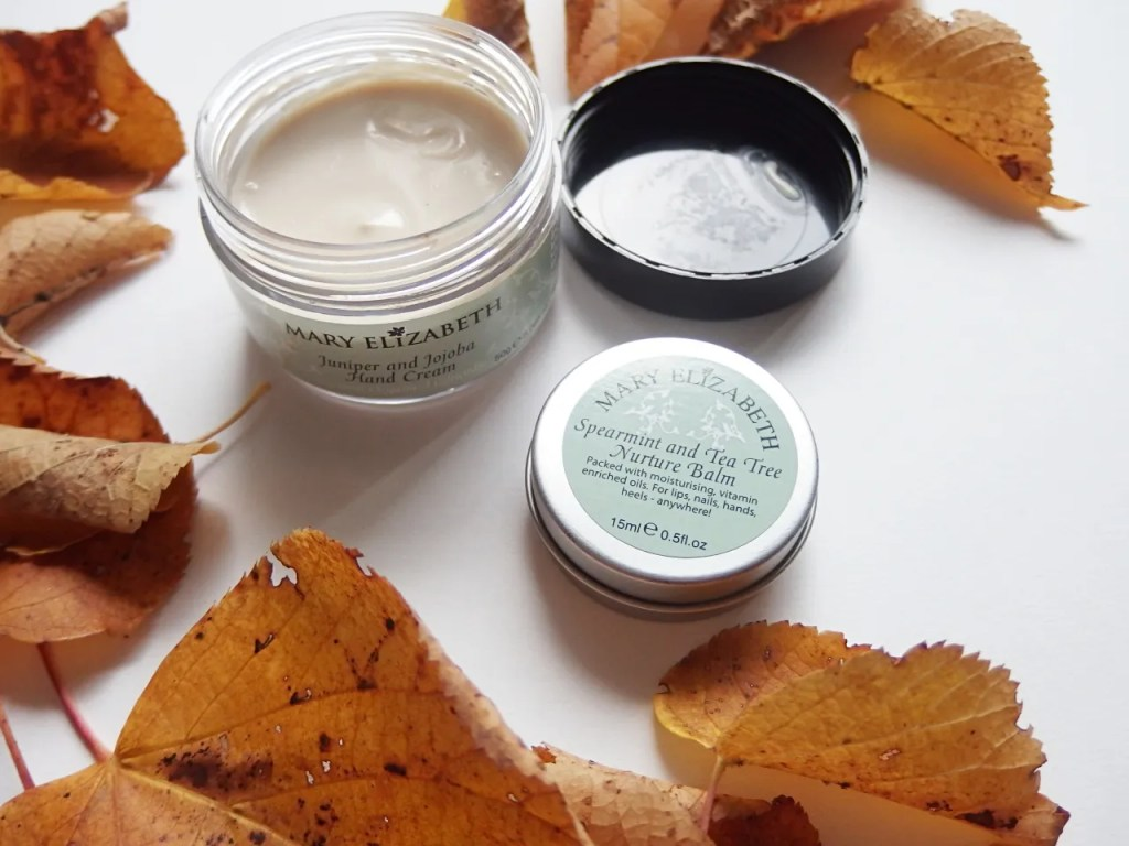 Mary Elizabeth Hand Cream and Nurture Balm