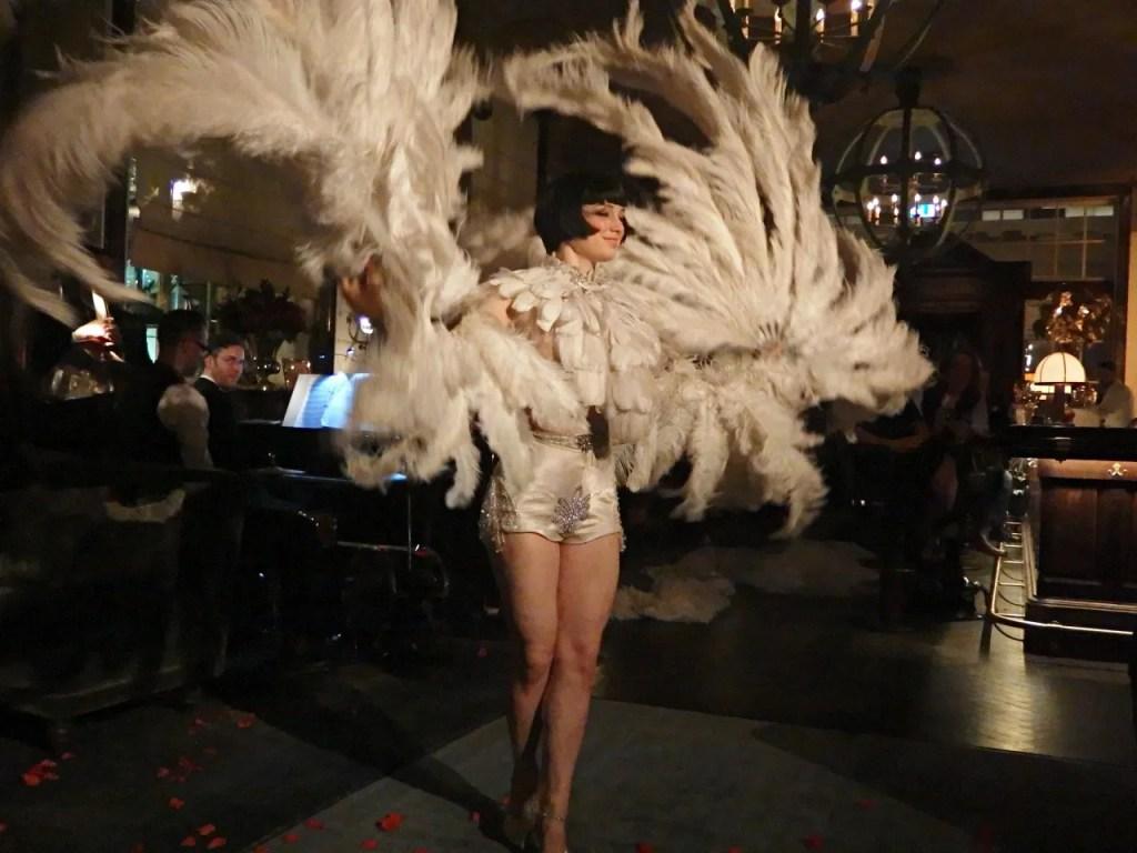 Burlesque dancing cabaret rosewood hotel