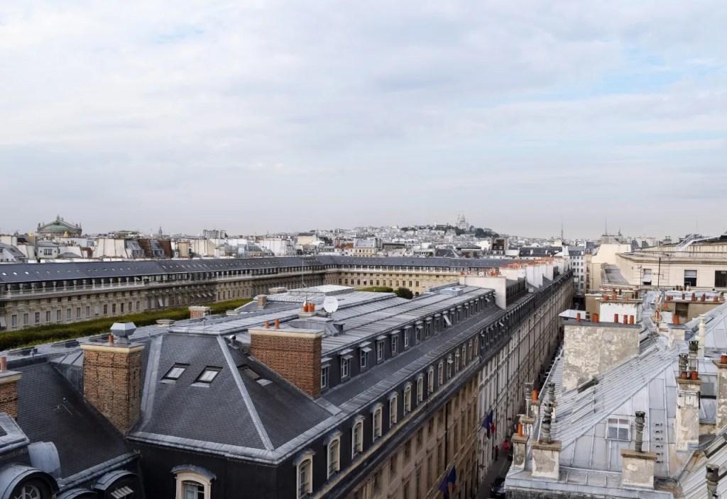 View from Suite Palais Royal Paris