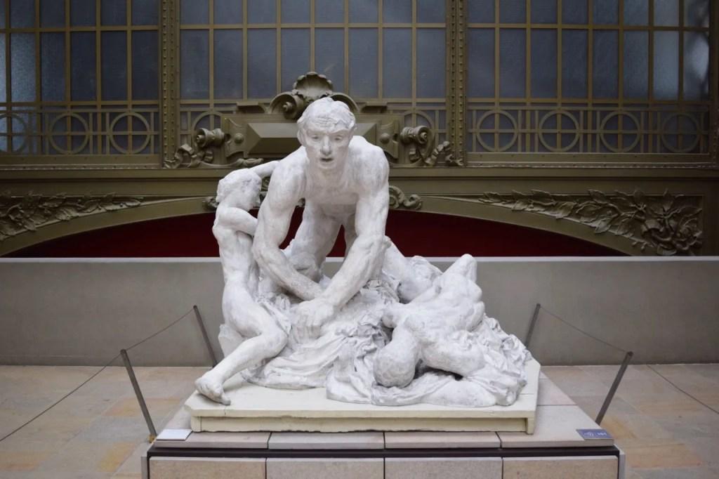 Sculpture at Musee D'Orsay