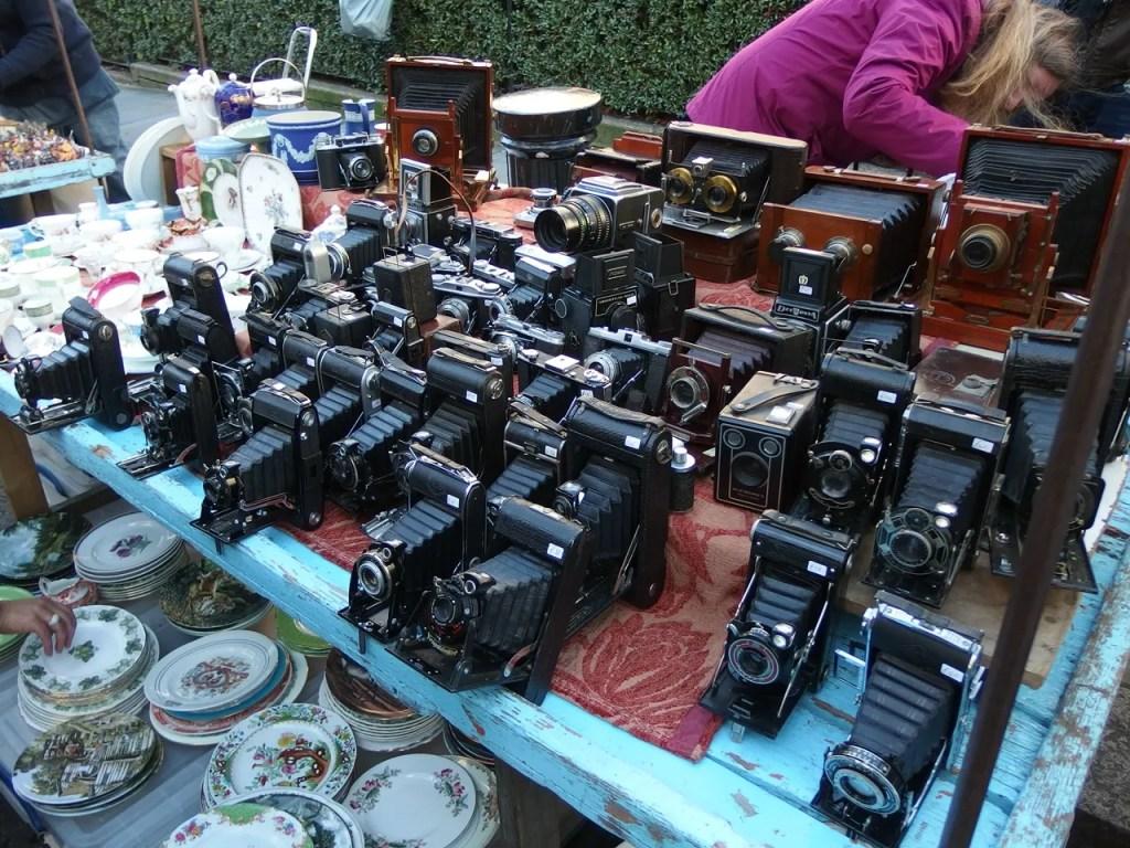 Vintage Cameras Portobello Marlet