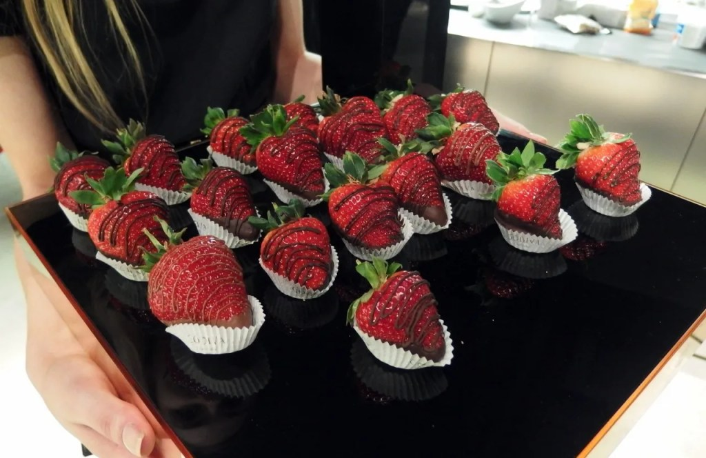 Godiva Strawberries