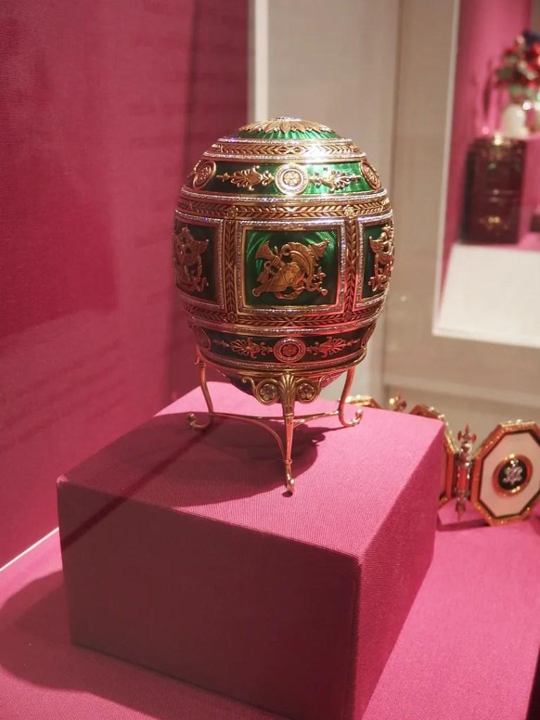 Faberge Eggs Metropolitan Museum of Art New York