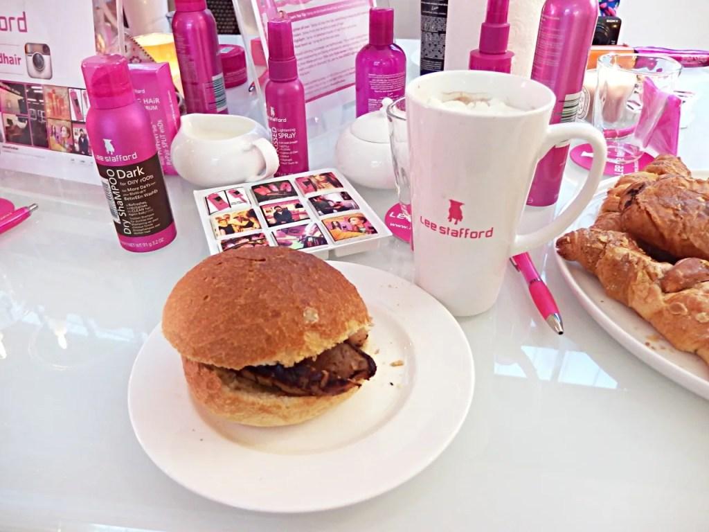 Lee Stafford Blogger Breakfast